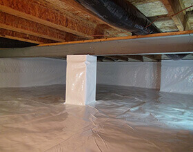 crawlspace encapsulationimage