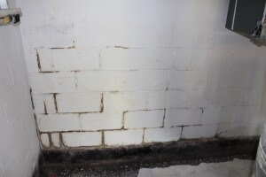 wet basement repair image