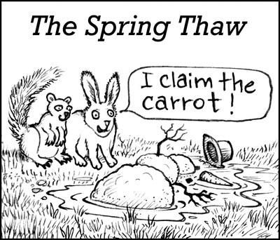 spring thaw image