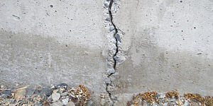 image of foundation crack